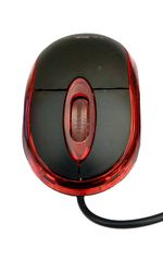 TECHON WIRED MOUSE PLATINUM TO-B66 FOR PC, LAPTOP (Red)