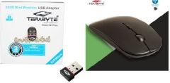 Terabyte 500Mbps & slim mouse combo