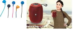 iBall Sound Melon Speaker & Colorflow52 Earphone combo