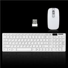 Terabyte 2.4G Ultra Thin Keyboard With Mouse combo