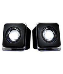 Techon To-055 (USB powered) 2.0 mini Desktop Speakers - Black