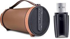 iBall Musi Barrel speaker & card Reader combo