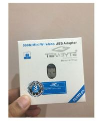 Terabyte 500 Mbps Mini USB WiFi Dongel with CD Driver