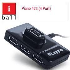 iBall Piano 423 High Speed (4 Port USB Hub)