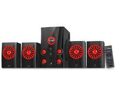 Zebronics HOPE-BTRUCF Multimedia speaker 4.1
