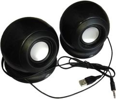 Terabyte clarion TB-008 2.0 Speakers - Black