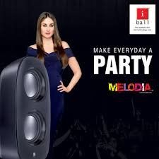 iBall Melodia 2.0 Speakers - Black