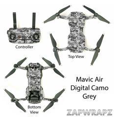 DJI Mavic Air Digital Camo Grey