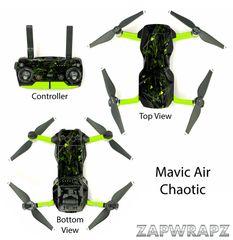 DJI Mavic Air Chaotic