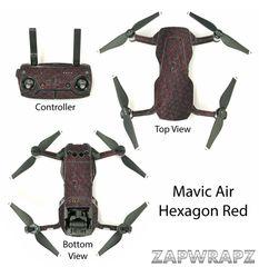 DJI Mavic Air Hexagon Red