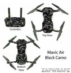 DJI Mavic Air Black Camo