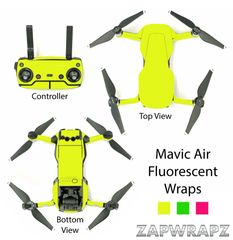 DJI Mavic Air Fluorescent wraps