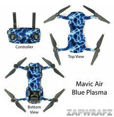 DJI Mavic Air Blue Plasma