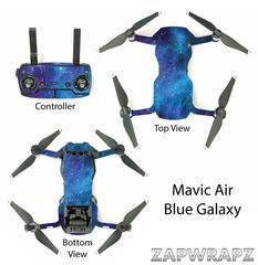 DJI Mavic Air Blue Galaxy