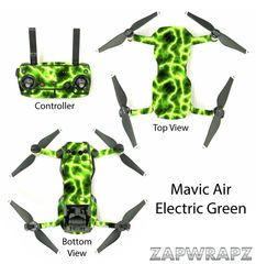 DJI Mavic Air Electric Green