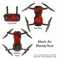 DJI Mavic Air Bloody Rust