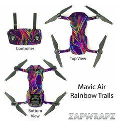 DJI Mavic Air Rainbow Trails