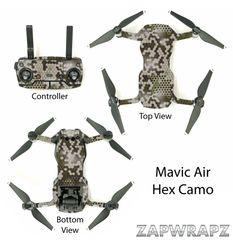 DJI Mavic Air Hex Camo