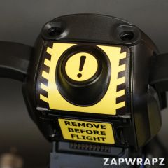 DJI Mavic Air Warning Stickers