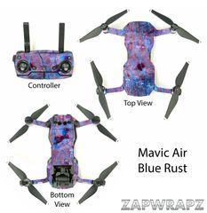 DJI Mavic Air Blue Rust