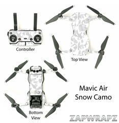 DJI Mavic Air Snow Camo