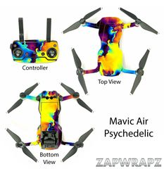 DJI Mavic Air Psychedelic