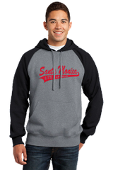 Pull Over Raglan Hoodie-Includes Santa Monica LL Front/SMLL Logo on the sleeve