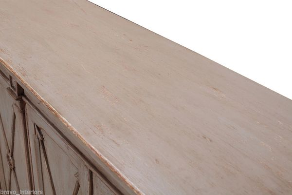 Sideboard Cabinet Bow Amp Arrow In Gray Bravo Interiors