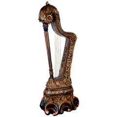 Illuminating Harp Lamp Decorative