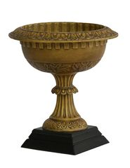 Garden Urn Cast Iron Bronze Finish Planter