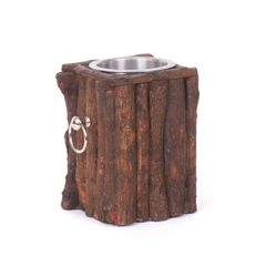 Log Wine Bucket Chiller