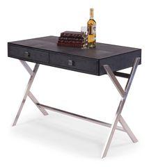 Shagreen Desk in Grey Transitional