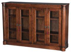 Aristocrat Column Book Case Cabinet