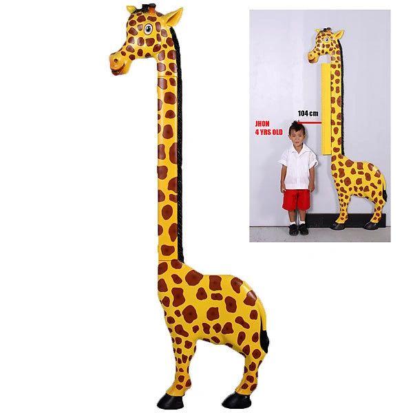 Giraffe Growth Chart Yard Stick Child Martelle