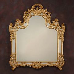 Gold Umbria Mirror Louis XV