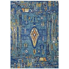 Multicolored Mayan Area Rug