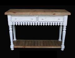 Coastal Sideboard Table Rustic Country