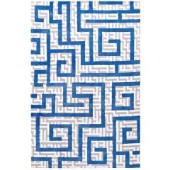 Geometric Abstract Area Rug 8 x 10