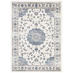 Distressed Afghan Medallion Rug