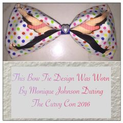 Downward Facing Dog Yoga Bow Tie