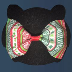 Ugly Sweater Bow Tie