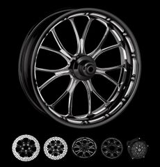 160a1. Performance Machine - Heathen Front Wheels for Harley Davidson
