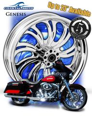 161u. Coastal Moto Genesis Front Wheel Package for Harley Davidson