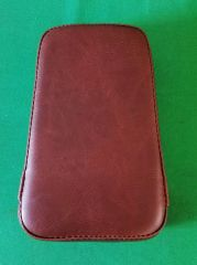 050a5. Backrest Pad - Distressed Brown (matches Mustang Seats)