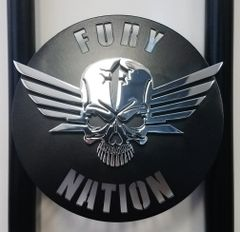 "070b1b. Fury Nation Insert ONLY - 5"" (shown with optional add-on Skull Wing)"