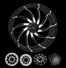 160a5. Performance Machine - Supra Front Wheels for Harley Davidson