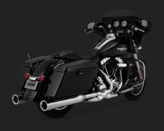 110c5. Vance & Hines Oversized 450 Destroyer Slip-Ons for HD Touring