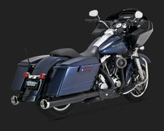 110c3. Vance & Hines California CARB Approved Monster Round Catalytic Slip-Ons for HD Touring