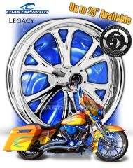 161q. Coastal Moto Legacy Front Wheel Package for Harley Davidson