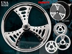 160c2. Renegade Wheels - by Paul Jr Design - Trinity for Harley Davidson
